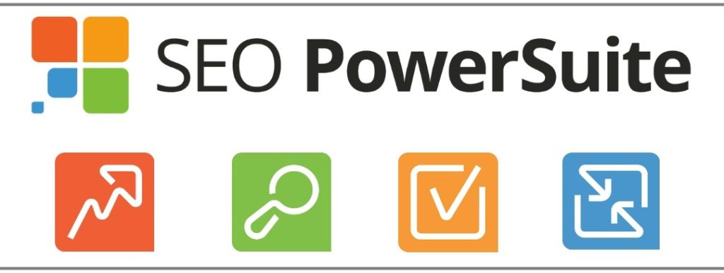 SEO PowerSuite4ツールロゴ