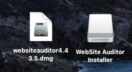 Website Auditorインストーラーアイコン